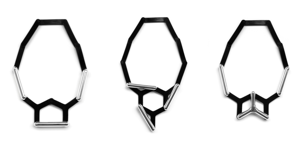 Modular jewellery necklaces