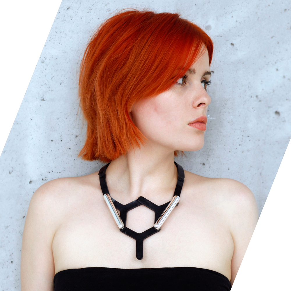 Modular jewellery necklace